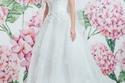 مجموعة فساتين زفاف جورج حبيقة لعروس 2017 كوني وردة متفتحة