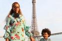 بيونسيه مع ابنتها في فندق شانغريلا باريس أحد أفخم فنادق العالم
