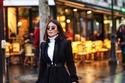 ديما الأسدي بإطلالة كلاسيك في أسبوع الموضة في باريس