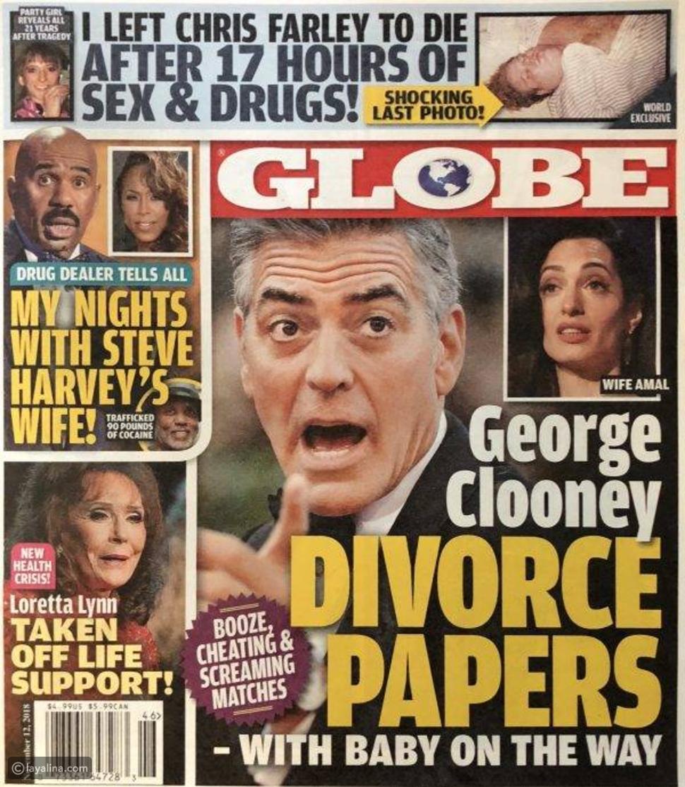 تفاصيل طلاق جورج كلوني وأمل علم الدين ببليون دولار أميركي