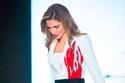الملكة رانيا ترتدي تصميم جورج شقرا