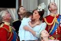الأميرة كيت ميدلتون والأميرة شارلوت