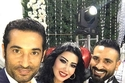 صور فستان سمية الخشاب في حفل عقد قرانها على أحمد سعد يقسم الجماهير