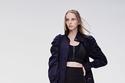 أزياء رياضية مع معطف طويل من مجموعة Karl Lagerfeld