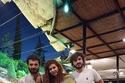 عباس النوري مع زوجته وأبنائه