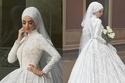 فستان زفاف 2018 يناسب المحجبات