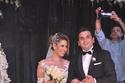 فستان عروس مصطفى خاطر كان ناعماً ورقيقاً