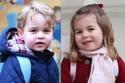 الأميرة تشارلوت تخطف الأنظار من الأمير جورج بشخصيتها الواثقة