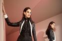 فستان من روبيرتو كافالي من تصميم بول سوريدج لون أسود شيفون