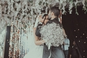 صور زفاف ابنة المذيعة منى الحسيني تشعل مواقع التواصل بفستانها الخيالي