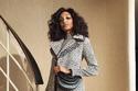 إطلالة أنيقة مع معطف طويل بنقش الفهد من مجموعةBrandon Maxwell