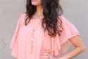 فستان باستيل وردي لعيد الفصح