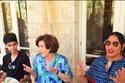 الفنانة أحلام تزور مؤسسة نهر الأردن