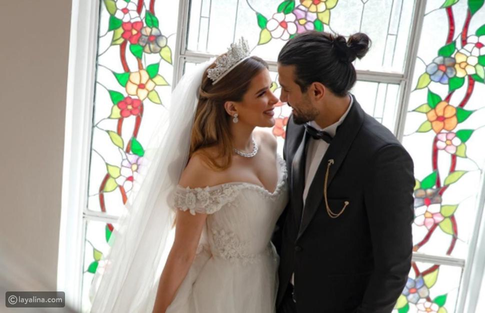 صور زفاف شيماء صابر واللاعب رامي صبري
