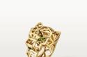 خاتم ذهب أصفر من Panthère de Cartier Rings