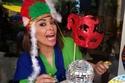 بالصور داليا البحيري تحتفل بعيد ميلاد ابنتها السابع متألقتان بألوان قوس قزح!
