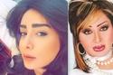 صور كيف اختلفت أشكال نجمات الخليج باختلاف رسمات حواجبهن