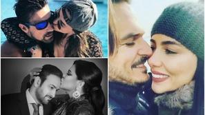 صور رومانسية النجوم وزوجاتهم وجرأتهم أمام الكاميرات أثارت غضب الجمهور