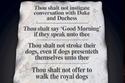 قائمة طويلة من القواعد الملزمة التي فرضها الثنائي الملكي على المحيطين