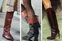 أحذية بوت مستوحاة من أزياء الفروسية