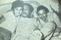 باكينام مع والدها أحمد رمزي وصديق عمره الفنان الراحل رشدي أباظة