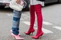 عودة صيحة الجزمات ذات الكعوب القاتلة إلى ساحة الموضة هذا الخريف