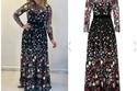 سعر فستان دنيا سمير غانم الذي حمل توقيع زهير مراد