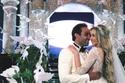 لقطات تبين بوضوح ديكورات حفل زفاف هنا الزاهد لتصبح أميرة من قصص ديزني