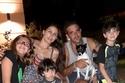 مايان كرم مع عائلتها