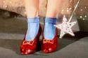 حذاء دورثي الأحمر في فيلم ساحر أوز The Wizard of Oz