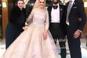 نصر صلاح، شقيق محمد صلاح، وعروسه