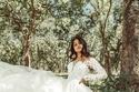 فساتين زفاف شيفون ناعمة