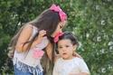 رهف ودانيلا وهي أصغر سنًا من الآن