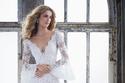 فستان زفاف 2019 بأكمام الجرس من الدانتيل