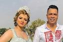 حسن شاكوش وخطيبته منة