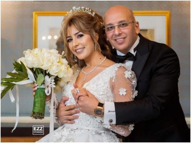 جنات وزوجها ينتظران طفلهما الأول بعد عام ونصف من الزواج
