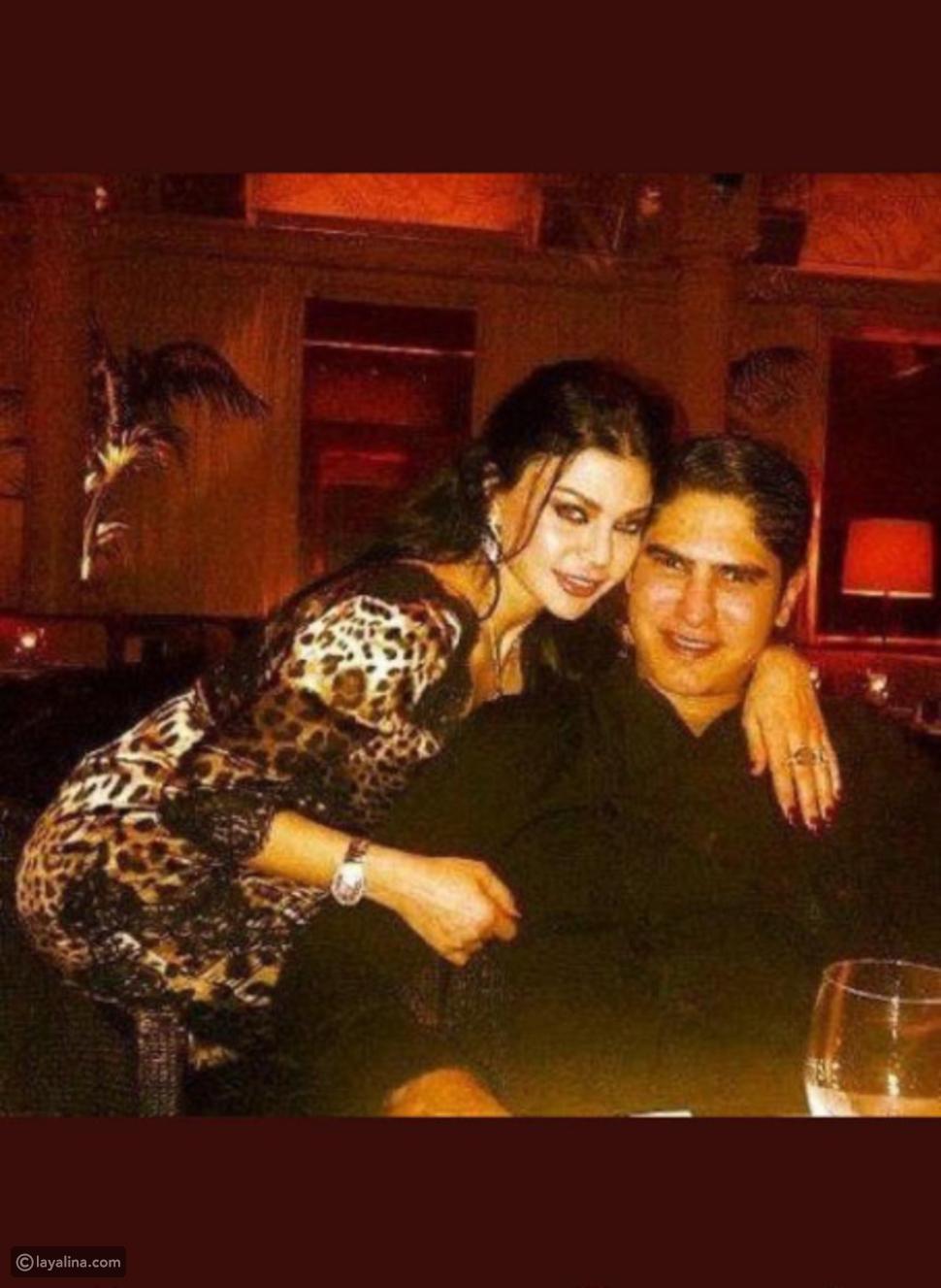 صورة لهيفاء وهبي مع زوجها أحمد أبو هشيمة في باريس قبل طلاقهما