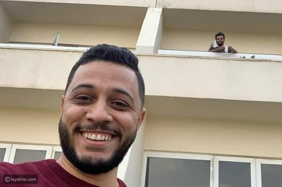 """تداول لقطات لـ""""محمد صلاح"""" بعد إصابته بفيروس كورونا"""