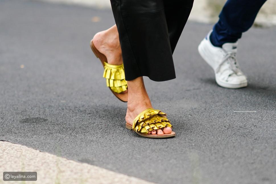 أحذية مسطحة Slides