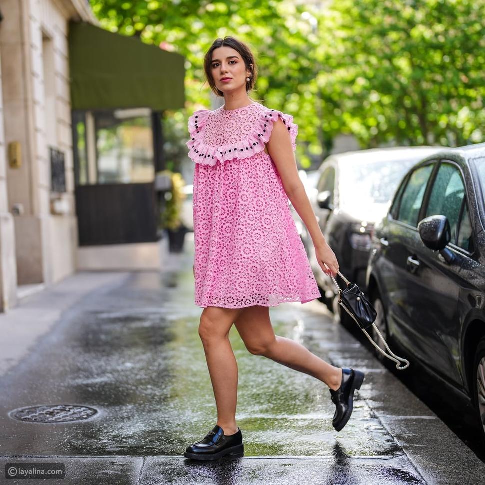 الفستان الوردي الصغير