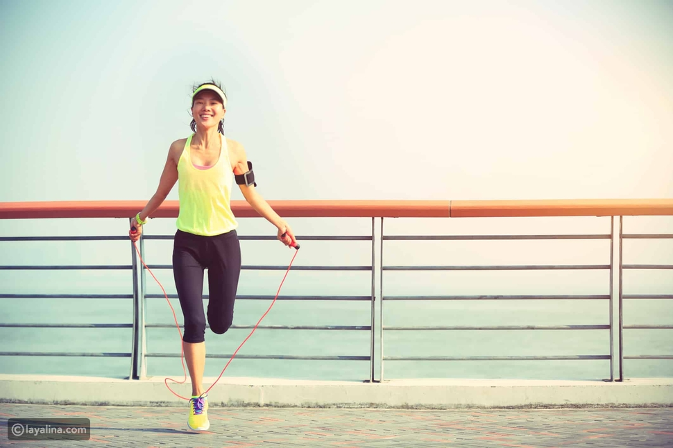 تمارين رياضية لحرق الدهون في المنزل