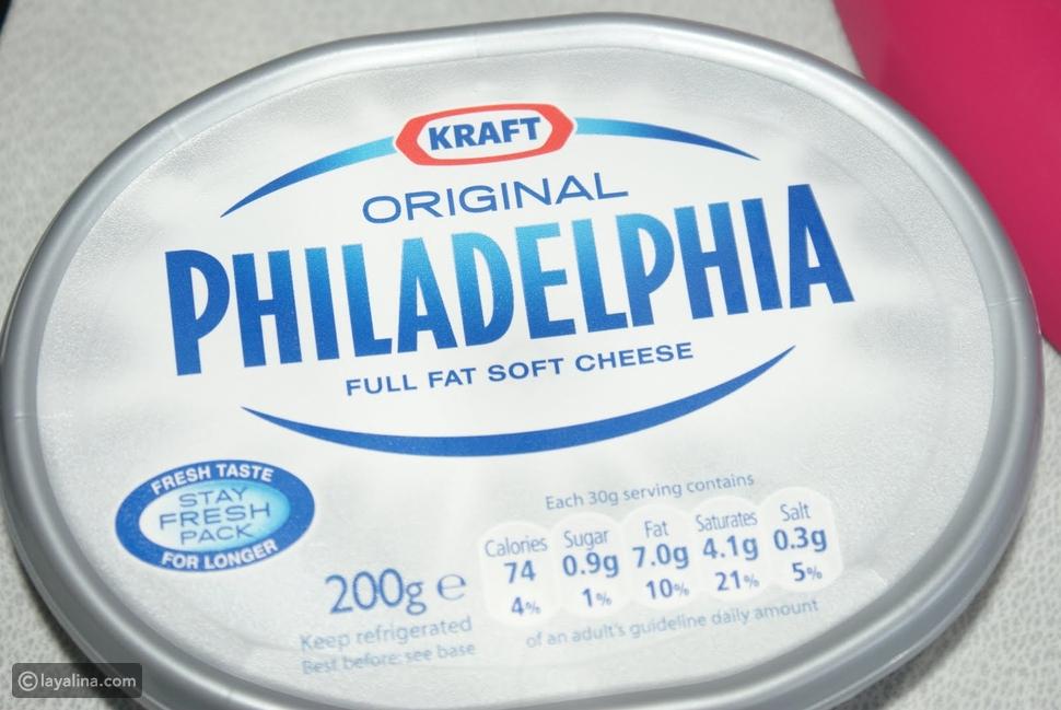 صورة جبنة فيلادلفيا