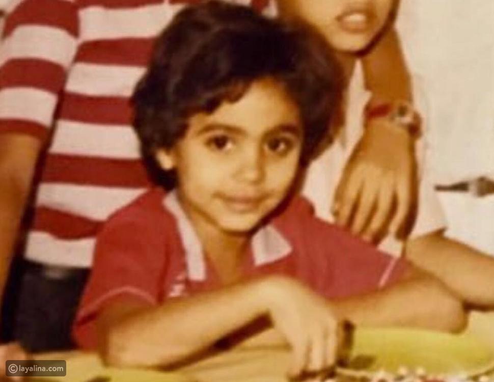 تامر حسني في طفولته