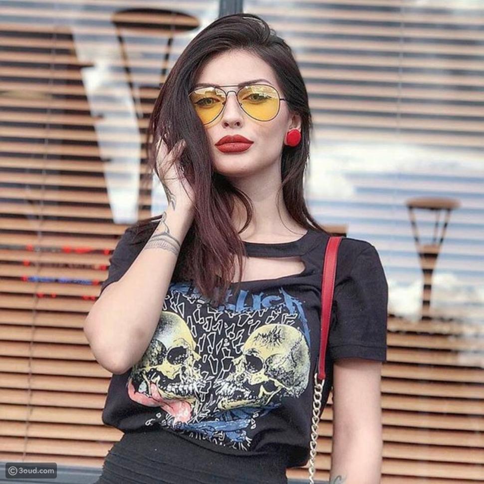 نظارات ذات عدسات شفافة