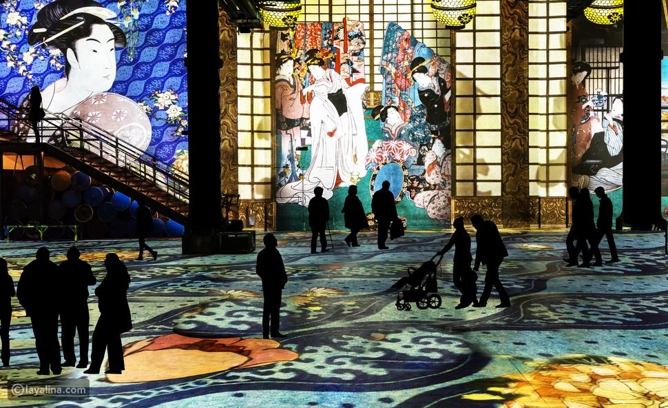 وكأنك داخل لوحة فنية: تعرفوا على معرض إنفينيتي دي لوميير في قلب دبي