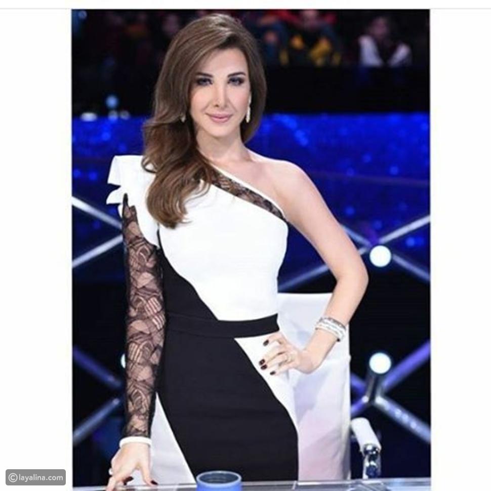نانسي عجرم تختار فستاناً من إيلي صعب
