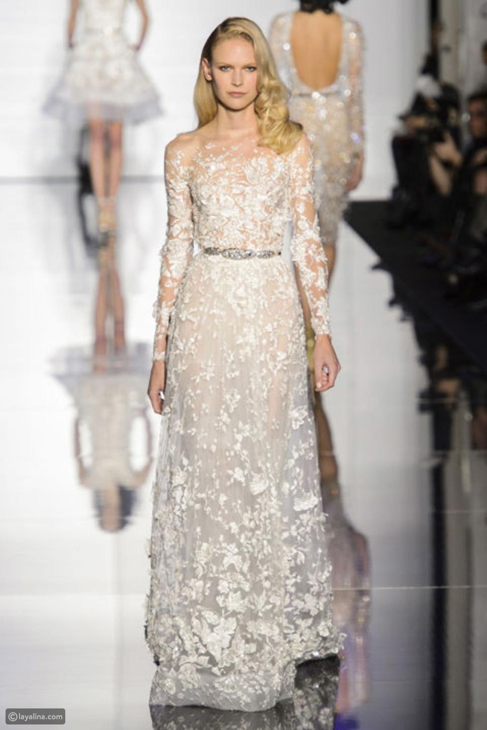 4 إطلالات عروس جديدة لتواكبي صيحات الموضة هذا الموسم