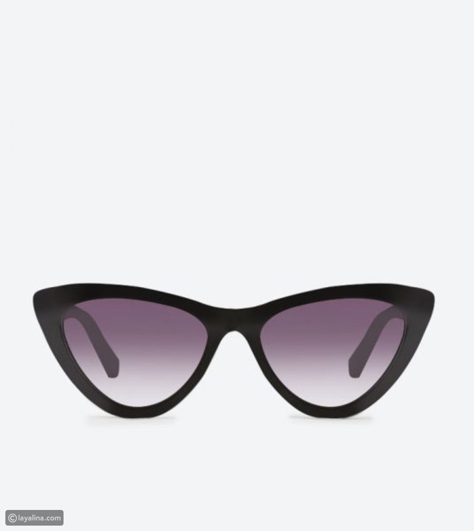 نظارات غيتاسو شمسية باللون الأسود من ديون لندن
