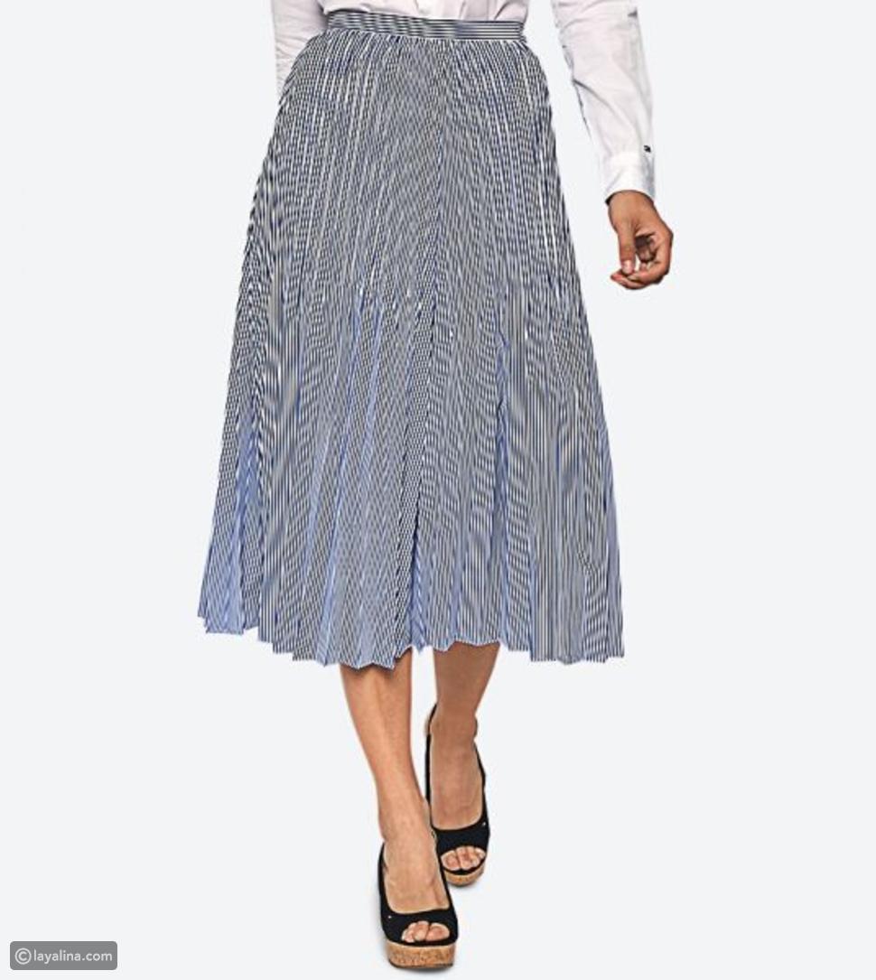 تنورة العصرية من تومي هيلفيغر