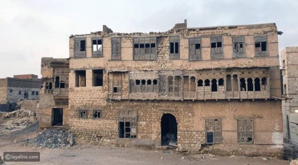 """ترميم منزل """"لورانس العرب"""" في ينبع"""